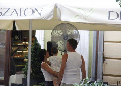 Kültéri mobil teraszhűtő ventilátor