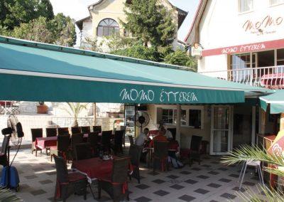 Kültéri mobil teraszhűtő ventilátor - Momo étterem