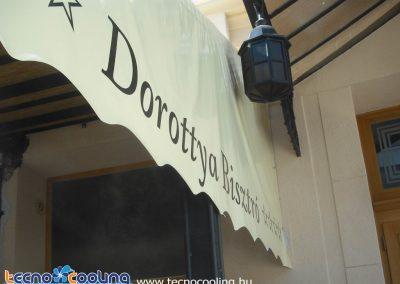 Párahűtés, párásítós ventilátor - Dorottya hotel